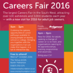 Careers Fair flyer